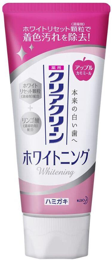 クリアクリーンホワイトニング 薬用ハミガキ アップルカモミール