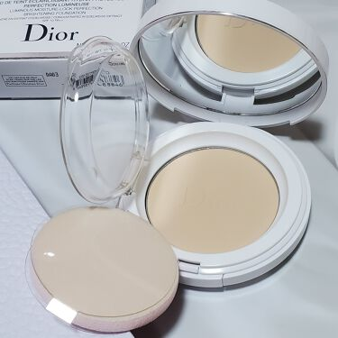 LIPSベストコスメ2020上半期カテゴリ賞 パウダーファンデ部門 第3位 Dior スノー パーフェクト ライト コンパクト ファンデーションの話題の口コミ・レビューの写真 (1枚目)