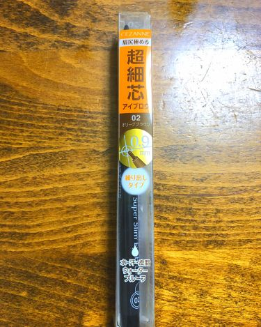 りんご飴さんの「セザンヌ超細芯アイブロウ<アイブロウペンシル>」を含むクチコミ