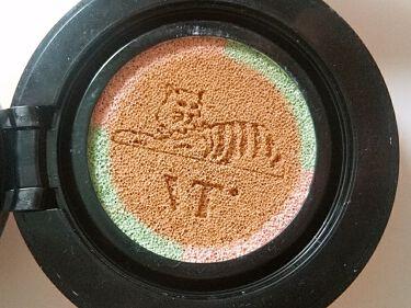 CICAレッドネスカバークッション/VT Cosmetics/クッションファンデーションを使ったクチコミ(2枚目)