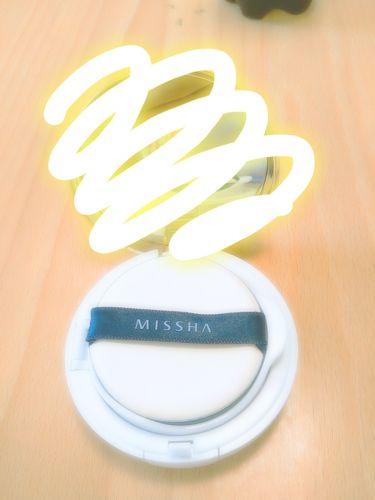 M クッション ファンデーション(モイスチャー)/MISSHA/その他ファンデーションを使ったクチコミ(2枚目)