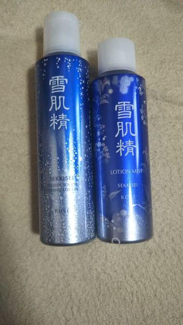 ローション ミスト/雪肌精/ミスト状化粧水を使ったクチコミ(1枚目)