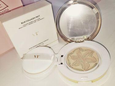 VT コラーゲンパクト/VT Cosmetics(旧 VANT 36.5)/その他ファンデーションを使ったクチコミ(2枚目)