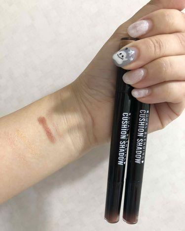 Chie Hashimotoさんの「MISSHAMISSHA デュアルブレンディングクッションシャドウ<パウダーアイシャドウ>」を含むクチコミ