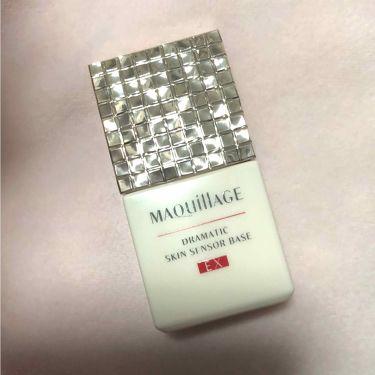 ドラマティックスキンセンサーベース UV/マキアージュ/化粧下地を使ったクチコミ(1枚目)