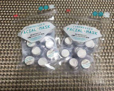 ザ・ダイソー DAISO 圧縮フェイスマスク
