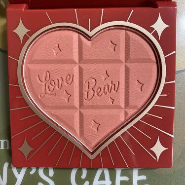 Love Bear 9色 アイシャドウパレット/FlowerKnows/パウダーアイシャドウを使ったクチコミ(7枚目)
