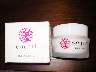 濃密美容クリーム/Coyori/フェイスクリームを使ったクチコミ(1枚目)