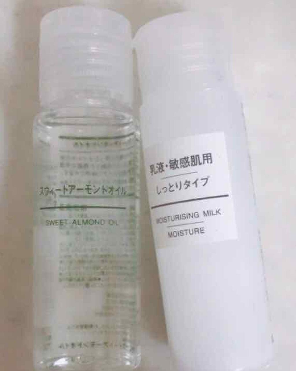 無印良品のボディクリーム・オイル スウィートアーモンドオイルを使ったクチコミ(1