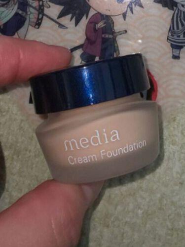 クリームファンデーションN<ミニ>/media/クリーム・エマルジョンファンデーションを使ったクチコミ(2枚目)