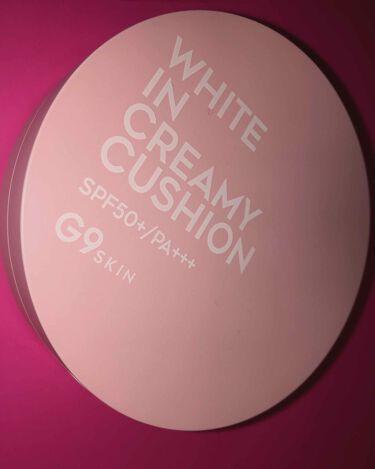G9SKIN WHITE IN MOISTURE CREAM/berrisom/フェイスクリームを使ったクチコミ(1枚目)