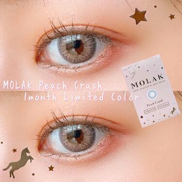 MOLAK  1Month/MOLAK/カラーコンタクトレンズを使ったクチコミ(1枚目)
