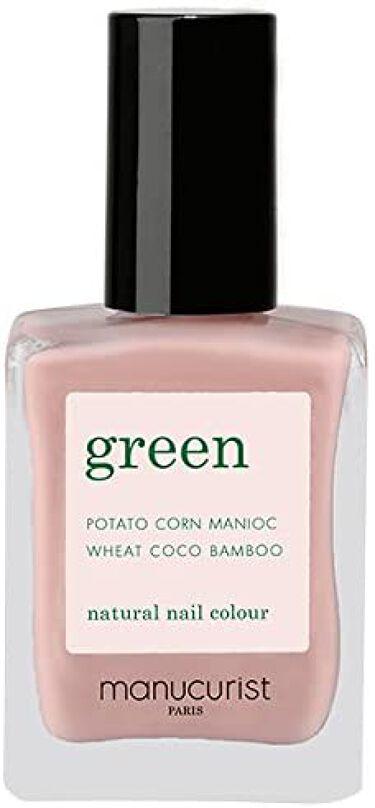 グリーン ナチュラルネイルカラー ピンクサテン 31022