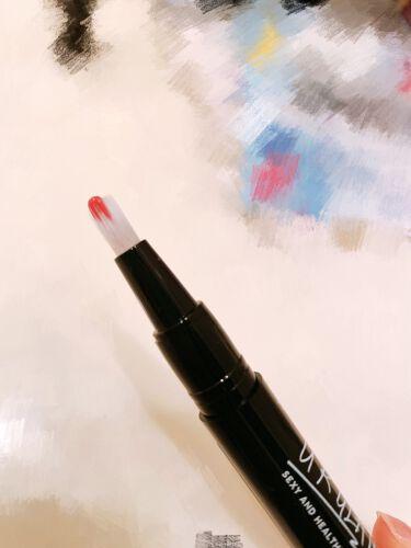UR GLAM LIQUID ROUGE(リキッドルージュペン)/URGLAM/口紅を使ったクチコミ(4枚目)