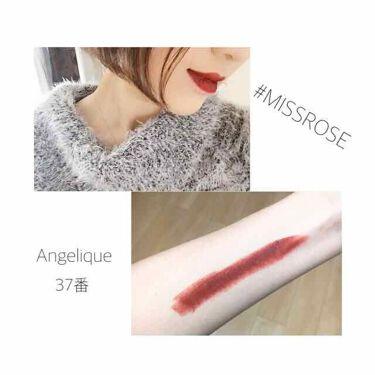 mayo on LIPS 「【lipstick💄✨】MISSROSE☞左)Angeliqu..」(2枚目)