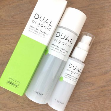 アクネハーブウォーター/DUAL ORGANIC/化粧水を使ったクチコミ(1枚目)
