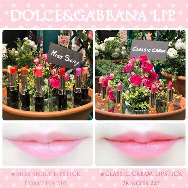 Classic Cream Lipstick/ドルチェ&ガッバーナ(海外)/口紅を使ったクチコミ(1枚目)