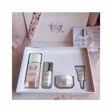 カプチュール トータル セル ENGY ディスカバリー キット/Dior/スキンケアキットを使ったクチコミ(1枚目)