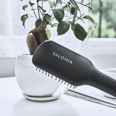 SALONIA ストレートヒートブラシ/SALONIA/ヘアケア美容家電を使ったクチコミ(1枚目)