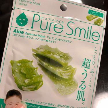 アロエエキス/Pure Smile/シートマスク・パックを使ったクチコミ(1枚目)