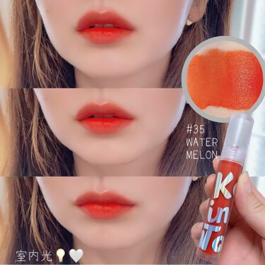 Tattoo lip candle tint/Keep in Touch/口紅を使ったクチコミ(4枚目)
