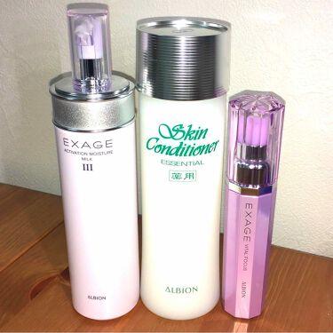 Yuuuuuさんの「アルビオン薬用スキンコンディショナー エッセンシャル<化粧水>」を含むクチコミ