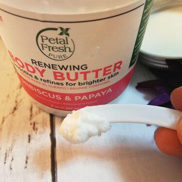 Petal Fresh Pure ボディバター ハイビスカス & パパイヤ/Petal Fresh Pure(ペタルフレッシュピュア)/ボディクリームを使ったクチコミ(2枚目)