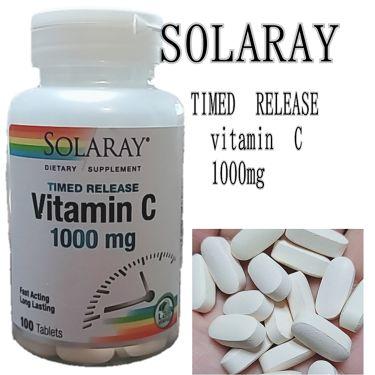 Vitamin C (ビタミンC)/SOLAREY (ソラレー)/健康サプリメントを使ったクチコミ(1枚目)