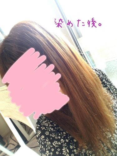 ホイップヘアカラー/ビューティラボ/ヘアカラー・白髪染め・ブリーチを使ったクチコミ(1枚目)