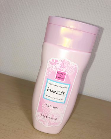 ボディミルクローション ピュアシャンプーの香り/フィアンセ/ボディローション・ミルクを使ったクチコミ(3枚目)