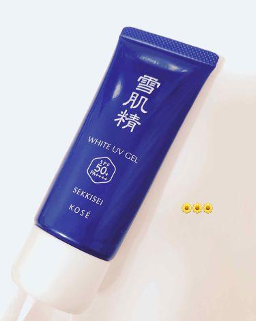 サンプロテクト エッセンス ジェル/雪肌精/化粧下地を使ったクチコミ(1枚目)