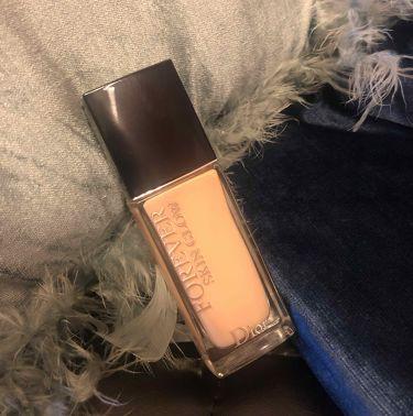 ディオールスキン フォーエヴァー フルイド グロウ/Dior/リキッドファンデーションを使ったクチコミ(1枚目)