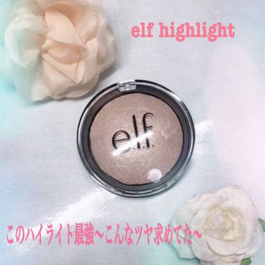 Candy♡さんの「e.l.f.Baked Highlighter & Blush<パウダーチーク>」を含むクチコミ
