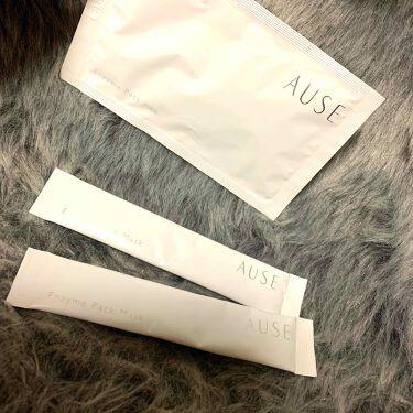 AUSE ピックアップクリーム/ハリウッド/洗い流すパック・マスクを使ったクチコミ(1枚目)