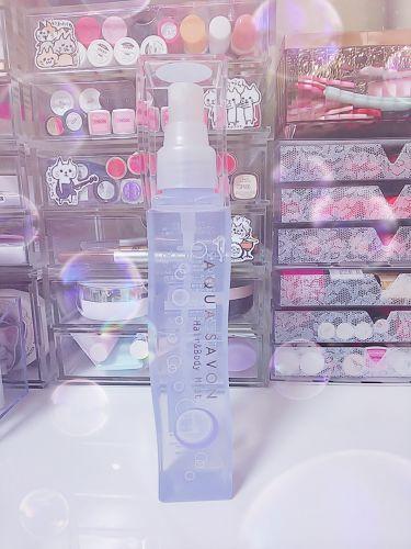 ヘアー&ボディミスト ウォータリーシャンプーの香り/アクアシャボン/ボディローション・ミルクを使ったクチコミ(1枚目)