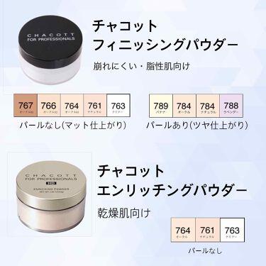 柳楽 詠子さんの「チャコット フォー プロフェッショナルズフィニッシング パウダー<ルースパウダー>」を含むクチコミ