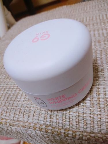 WHITE WHIPPING CREAM(ウユクリーム)/G9 SKIN/化粧下地を使ったクチコミ(1枚目)