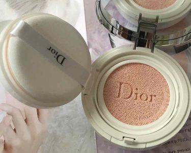 ディオール  スノー パーフェクト ライト クッション SPF 50-PA+++/Dior/化粧下地を使ったクチコミ(2枚目)