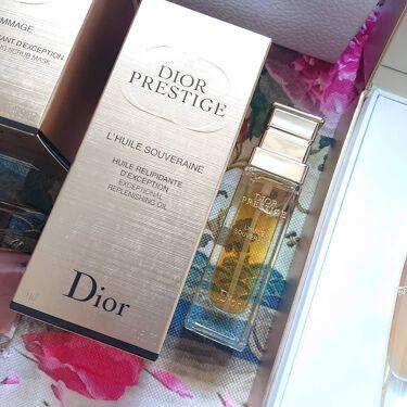 プレステージ ソヴレーヌ オイル/Dior/フェイスオイルを使ったクチコミ(3枚目)