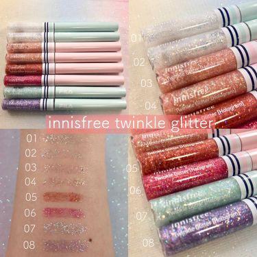 twinkle glitter [hologram ver]/innisfree/リキッドアイライナーを使ったクチコミ(1枚目)