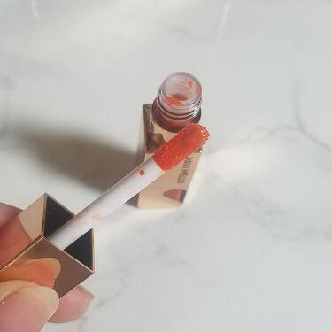 ハートウィンドウリップティントオイルタイプ/VAVI MELLO(バビメロ)/リップグロスを使ったクチコミ(3枚目)