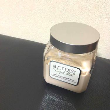 ホイップトボディクリーム /laura mercier/ボディクリーム・オイルを使ったクチコミ(1枚目)