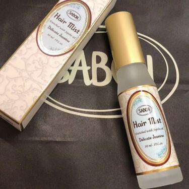 ヘアミスト/SABON/香水(その他)を使ったクチコミ(1枚目)