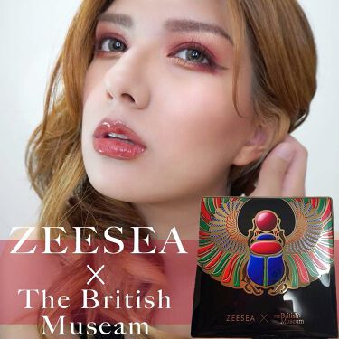 ZEESEA × 大英博物館 エジプトシリーズ  アイシャドウパレット (16色)/ZEESEA/パウダーアイシャドウを使ったクチコミ(1枚目)