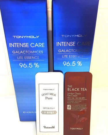 インテンスケア ガラクトミセス ライトエッセンス/TONYMOLY/化粧水を使ったクチコミ(1枚目)