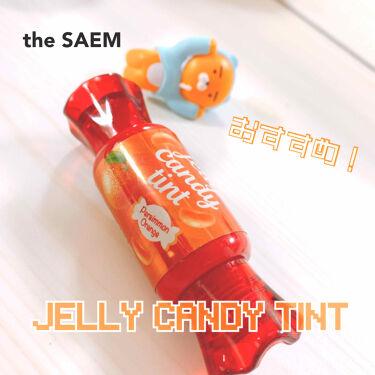 ジェリー キャンディー ティント/the SAEM/リップグロスを使ったクチコミ(1枚目)