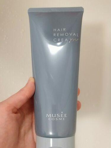 【画像付きクチコミ】ホワイトシトラスの良い香りで、クリームも丁度いい柔らかさでお肌に伸ばしやすいです。5~10程度置いてから、軽く拭き取って洗い流します。細い毛もキレイに取れていて、これから肌を出す季節に欠かせないです◎