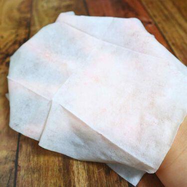 メイクの上からリフレッシュシート/ビオレ/あぶらとり紙を使ったクチコミ(2枚目)