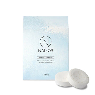 2021/9/2発売 NALOW 炭酸ソルト入浴料