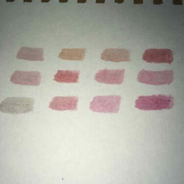 12色 リップ パレット/LOUJENE/口紅を使ったクチコミ(3枚目)